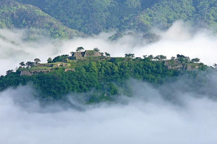 竹田城跡の雲海